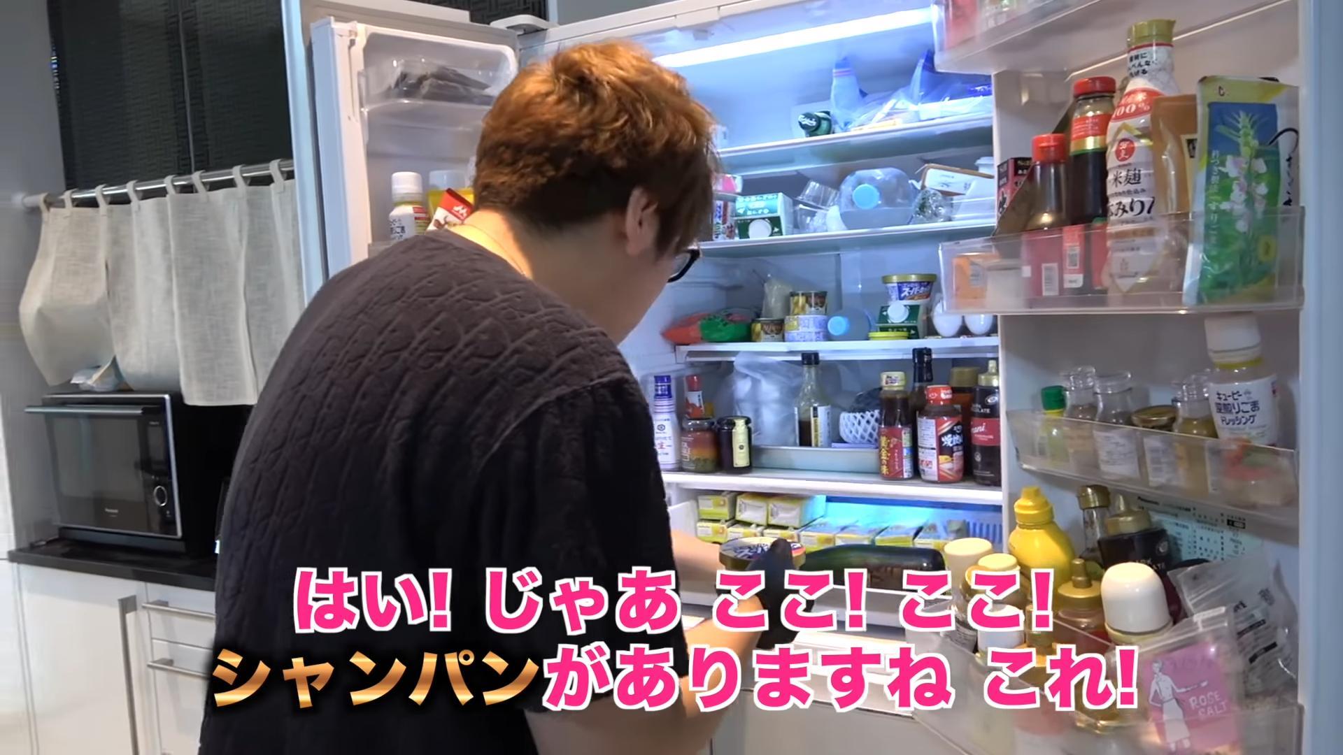 年収5億円の男の冷蔵庫の中身wwwwwwwwwwww